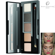 HD Brows® High Definition Brows Eye and Brow Foxy Palette, eyebrow Lash Booster Shadow Genuine Makeup