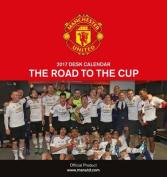 Manchester United Official 2017 Desk Easel Calendar