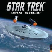 Star Trek Ships Official 2017 Square Calendar