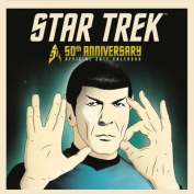 Star Trek 50th Anniversary Official 2017 Calendar