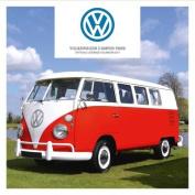 VW Camper Vans Official 2017 Square Calendar