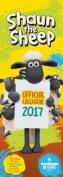 Shaun the Sheep Official 2017 Slim Calendar