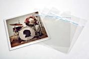 130cm x 18cm inch Vinyl Record 45rpm Covers aka Blake sleeves Crystal Clear Sealed Flap