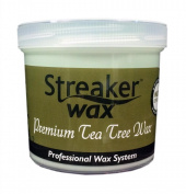 Streaker Wax Premium Tea Tree 450g Pot