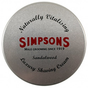 Simpsons Luxury Sandalwood Shaving Cream