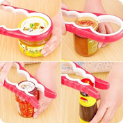 EQLEF® 4 in 1 Kitchen Tool Gourd-shaped Can Opener Screw Cap Jar Bottle Wrench