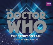 Doctor Who Official 2017 Desk Block Calendar