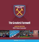 West Ham Official 2017 Desk Easel Calendar