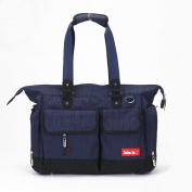 Skinly Men's Nappy Bag with Changing Pad Blue Size M