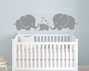 LUCKKYY®Cute Elephant Family Wall Decor Nursery baby Children Bedroom