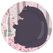 Foret AL920E Small Plate with Bear Motif