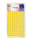 Avery 8mm Coding Dots Selection (Yellow) Pack of 520 dots