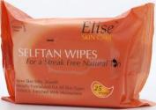 SIX PACKS of Elise 25 Self Tan Wipes