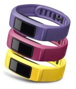 Garmin Large Coloured Wrist Band for Vivofit 2 - Canary/Pink/Violet