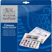 Winsor & Newton Cotman Water Colour Paints - 8 ml Tuben, 10 Farben