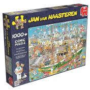 Jan van Haasteren - Tall Ship Chaos Jigsaw Puzzle