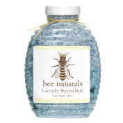 **NEW ITEM** BEST Lavender Mineral Bath - Ease Muscular and Mental tension - Perfect Natural Therapy Aches and Pains Relief - Soothe Skin - All Premium Ingredients - Stress Relieving Bath-Salts