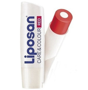Liposan (Labello) Care & Colour Red - Lip Care Balm - 4.8gr/5.5ml