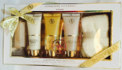 Adrienne Vittadini Studio 5-pc Citrus Orchid Luxurious Foot Essentials Gift Set