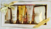 Adrienne Vittadini Studio 5-pc Citrus Orchid Luxurious Foot Essentials Gift Set