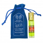 Nag Champa Fragrance Natural Perufme Oil 100 % Pure and Natural - 10ml