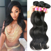 10A Queen Hair Products Unprocessed Brazilian Virgin Hair 3 Bundles Body Wave 100% Human Hair Extension Brazilian Hair Weave