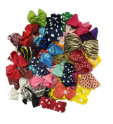 Assorted Large and Medium Hair Bows - 15 Hair Accessories CoverYourHair®