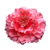 OVERMAL 70PC Women Beach Holiday Headwear Peony Flowers Clips