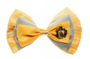 Harry Potter Hufflepuff Crest Stylish Hair Bow Tie Clip