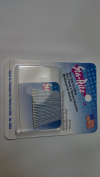 24PC Sta-Rite 3.2cm White Bobby Hair Pin, 6PKS
