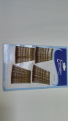 100PC Expressions 5.1cm Brown Bobby Hair Pin, 12PKS