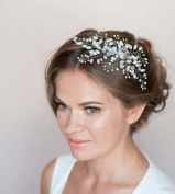 Side Bridal Comb, Wedding Hairpiece with Flowers Headpiece Hair Jewellery Wedding Accessories