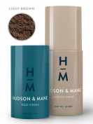 Hudson & Mane - The Complete System (Hair Fibres and Locking Spray Bundle)