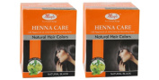 Pack of 2 - Nature's Essence Henna Care - Natural Hair Colours - 150g