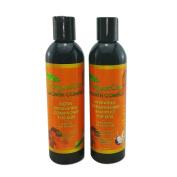 100% Pure Organic Shampoo & Conditioner Set (for kids) with Biotin, Wheat Protein, Vitamin B5, Argan Oil, Aloa Vera & more