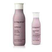 Living Proof Restore Conditioner 240ml & Living Proof Restore Targeted Repair Cream, 120ml