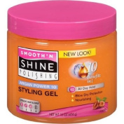Smooth 'n Shine Polishing Argan Power 10 Nourishing Styling Gel, 470ml