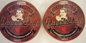 Multipack - 2 Dapper Dan Deluxe Pomade Medium Hold Medium Shine - 100 ml each