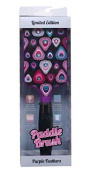Ti-Style Professional Paddle Brush with Bling (BR2)