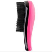 Aoohe Hair Brush Combs Glide Thru Magic Detangling Handle Tangle Shower Salon Styling Tamer Tool