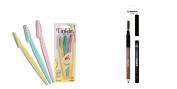 Eyebrow Pencil with Tinkle Eyebrow Razors
