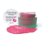 Lip Scrub - Smoochies! Exfoliating Lip Polish - Vegan Organic - 24g (Cherry Baby