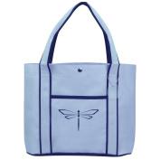Fashion Tote Bag Shopping Beach Purse Dragonfly