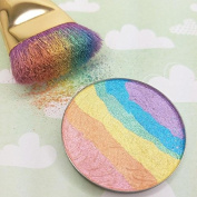 Banggood New Hot Rainbow Highlighter Contour Blusher Eyeshadow Makeup Cosmetic Set Regular