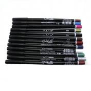 Sankuwen 12 Colours Eyebrow Glitter Shadow Lip EyeLiner Pencil Pen