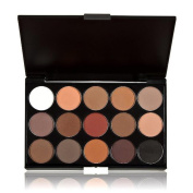 Niwota Professional 15 Colours Women Cosmetic Makeup Neutral Nudes Warm Eyeshadow Palette