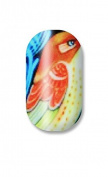 Minx Nails Haiti Fundraiser 1 Nail Decal Exotic Fish