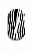 Minx Nails Zebra Nail Decals Black and White