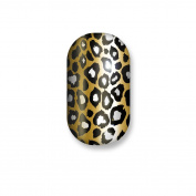 Minx Nails Born to be Wild Nail Decals Metallic Cheetah Gold