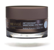 The Best Eye Wrinkle Cream, an Antioxidant Smoothing Eye Treatment by Revival. This anti ageing eye cream is blended with powerful minerals from the Dead Sea in Israel